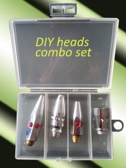 combo set DIY trolling heads.
