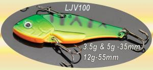 Osprey vib jigs.  LJG100 vibe jigs comes in 3 sizes 3.5g, 5g and 12g