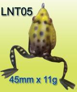soft bait for predatory fish- frogs with jumper legs- lnt05