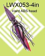 Octo jig- hard plastic octopus head with spinner bait skirt