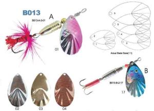 fishing spinner Model B013-A bell