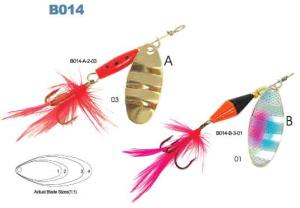 fishing spinner Model B014-A