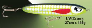 Wooden popper lures 1025