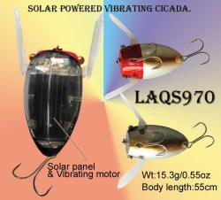 electronic lures-  solar powered crankbaits- cicada